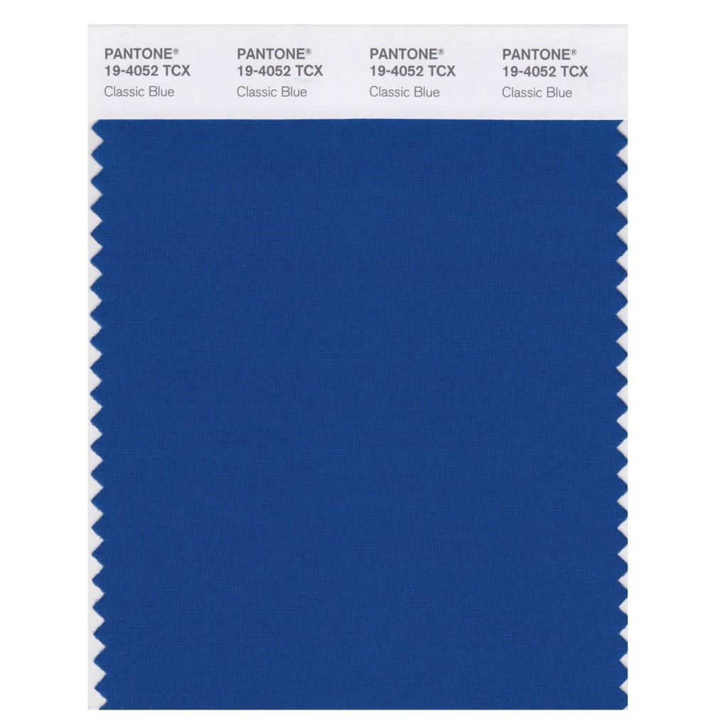 Dit is de kleur blauw die Pantone heeft uitgeroepen tot trendkleur van 2020.
